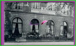 61 Orne ARGENTAN Reproduction Photo Papier - Ancien Café Du Théâtre Place De La Mairie Actuellement Siège De L' UFA - Reproductions