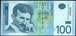 SERBIA - 100 Dinara 2013 {Narodna Banka Srbije} {Prefix AA000....} UNC P.57 B - Servië