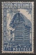 Papua New Guinea 1952 -1960 Local Motives 7½ P Blue SW 12 O Used - Papua New Guinea