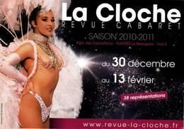 "CPM - PIN UP - Carte PUB Revue CABARET ""La Cloche"" - Pin-Ups"