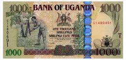 UGANDA 1000 SHILLINGS 2009 Pick 43b Unc - Oeganda