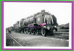 61 Orne ARGENTAN Reproduction Photo Papier - Locomotive Décoré Pour Train Présidentiel Mécanicien Bouilly - Reproductions