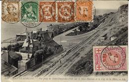 1916- C P RECCOMMANDEE De Sainte-Adresse  Affr.  55 C  Pour Paris - Andere