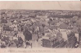 CPA  - 1. LORIENT Panorama Pris De La Tour De L'église St Louis - Lorient