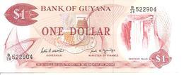 Guyana P-21f 1 Dollar 1989 UNC - Guyana