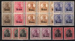 Bélgica (Ocupación Alemana).  Nº 26, 24/31, 33/35. Año 1916-17 - WW I