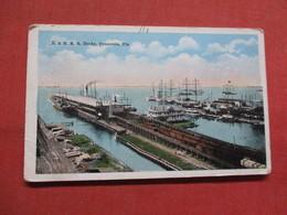L & N. R.R. Docks        Florida > Pensacola  Ref 3545 - Pensacola