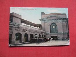 N.Y.C. & H.R.R. Station Schenectady - New York      Ref 3545 - NY - New York