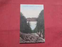 Quechee Gulf On Woodstock R.R. Dewys Mills Vermont     Ref 3545 - United States