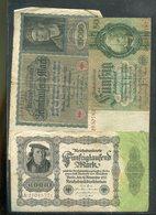 Deutschland / Int. Posten Mit 30 Reichs-Geldscheinen (23255-50) - Deutschland