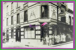 61 Orne ARGENTAN Reproduction Photo Papier - Le Personnel De La Maison HERVAULT Rue De La Chaussée Ex Petit Jean - Reproducciones