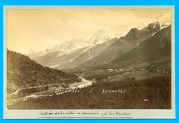 Chamonix * Les Houches - Photo Albumine Neurdein Vers 1890 - Voir Scans - Photos