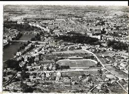 MONTAUBAN Vue Générale Et Terrain Des Sports (stade) - Cim 18 A, Envoi 1961, Cpsm - Montauban