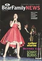 BEAR FAMILY NEWS - Mai 2011 - Brenda LEE - Ronnie HAWKINS - Eddy ARNOLD - Louis PRIMA - Musique