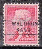 USA Precancel Vorausentwertung Preo, Locals Kansas, Waldron 745 - Vereinigte Staaten
