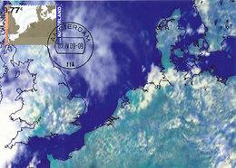 D37814 CARTE MAXIMUM CARD RR FD 2009 NETHERLANDS EUROPE OVERVIEW SATELLITE - EUROPA CEPT CP ORIGINAL - Climate & Meteorology