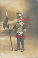 Orginal Photo Belgium Lancer Helm, Type Czapka With Sword And Lans Lansiers Ulhan Child Pre 1914 - 1914-18