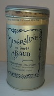 [ PHARMACIE ] Très BELLE Boîte Ancienne De « MINÉRALINE Du Dr. Baud » (d'un Pharmacien à Gennevilliers) - Scatole