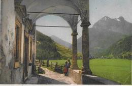 SAAS GRUND → Kapelle Horlauenen Anno 1933 - VS Valais
