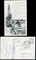 WW II Lieder Karte : Panzerlied, Die Von Der Panzerkompanie, Gebraucht Feldpost Wilhelmshaven 1942. - Allemagne