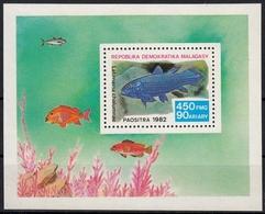 Madagaskar MiNr. Bl. 19 ** Fische - Madagaskar (1960-...)