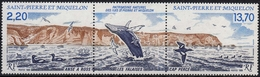 St. Pierre MiNr. 566/67 ** Naturschutz Im Dreierstreifen - St.Pierre & Miquelon