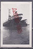 Fixe Navire Célimène Réparation Dock Flottant Compagnie Nantaise De Réparations Navales Nantes - Bateaux