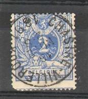 Belgique - N° 27 -  Oblitération :  CHASTRE-VILLEROUX - 1869-1888 Lion Couché