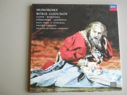 LASERDISC - PAL - Boris Godunov - Mussorgsky - Autres Collections