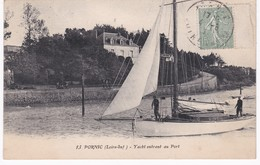 44  Loire Atlantique -  PORNIC -  Yacht Entrant Au Port - Pornic