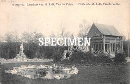 Lusthuis Van M J.B. Van De Velde - WETTEREN - Wetteren