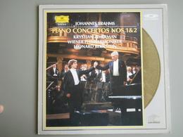 LASERDISC - PAL - Johannes  BRAHMS - Piano Concerto - Bernstein - Autres Collections