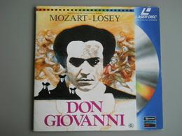 LASERDISC - PAL - DON GIOVANNI - MOZART - LOSEY - Autres Collections