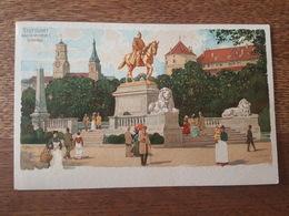 Stuttgart - Kaiser Wilhelm I. Denkmal - Illustré Par C. Schmidt - Stuttgart