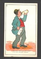A Ce Bon Liquide Sois Reconnaissant, Il Te Rend Tout-à-fait Imposant - Illustrator TAM - Ed. Oscar Devos, New-York - Humour