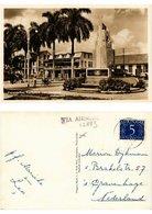 CPA PC Suriname PARAMARIBO - Kerkplein Met Helstone Monument (a2773) - Suriname