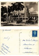 CPA PC Suriname PARAMARIBO - Kerkplein Met Helstone Monument (a2852) - Suriname