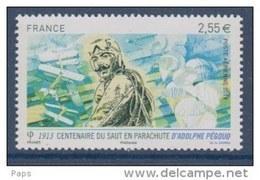 FRANCE 2013-P.A. N°76** 1er SAUT EN PARACHUTE A.PEGOUD - Poste Aérienne