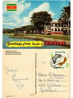 CPM SURINAME-Greetings From Suriname-Waterfront Near Stonestairs (330080) - Surinam