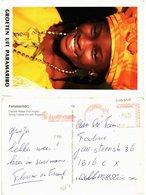 CPM SURINAME-Groeten Uit Paramaribo-Young Creole Girl With Angisa (330040) - Surinam
