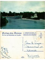 CPM SURINAME-Heavily Laden Oreship Being Towed (330142) - Surinam