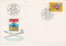 Switzerland 1967 Exp. Philatelique Par PTT Néerlandais Geneve / Efta Stamp On Cover (44136) - Brieven En Documenten