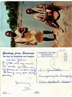 CPM SURINAME-Sturdy Bushnegroes In Colorful Native Dress (329980) - Surinam