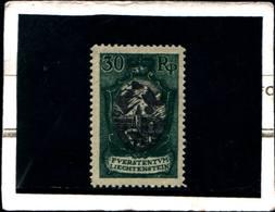 6514B)   FRANCOBOLLI - 1921 LIECHTENSTEIN -30 RP-VEDUTA-N.54-MNH** - Liechtenstein