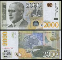 SERBIA - 2.000 Dinara 2011 {Narodna Banka Srbije} UNC P.61 A - Serbia
