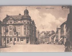 ASCH Kaiserstrasse Mit Leben 1921 - Tschechische Republik