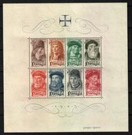 Portugal ( Hoja Bloque) Nº 7. Año 1945 - Blocks & Sheetlets