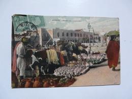 CPA  TUNISIE - BIZERTE : Le Marché Aux Gargoulettes - Tunesien