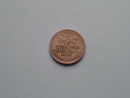 1922 > 50 Cent Congo Belge ( KM 22 / ( Voir Photo ) ! - 1910-1934: Albert I