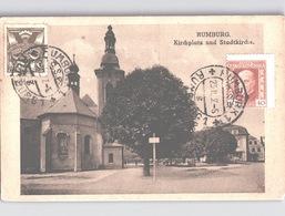RUMBURG Kirchplatz With Collectors Club Handstamp Violet 1927 - Tsjechië